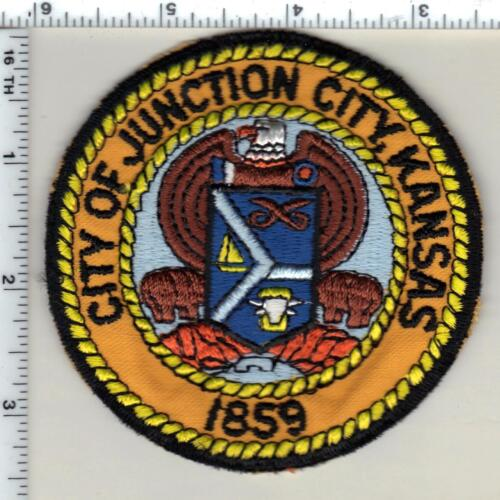 City of Junction City Police (Kansas) Shoulder Patch - new from 1997