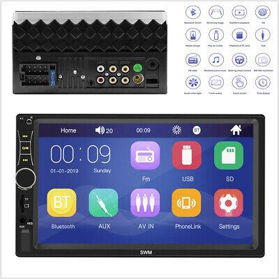 "2DIN 7"" HD Car Auto Stereo Video Radio Bluetooth USB TF FM MP5 Multimedia Player comprar usado  Enviando para Brazil"