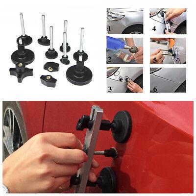 Black Aluminum &Plastic Car Body Dent Repair Tool Dent Puller Kit+Pulling -