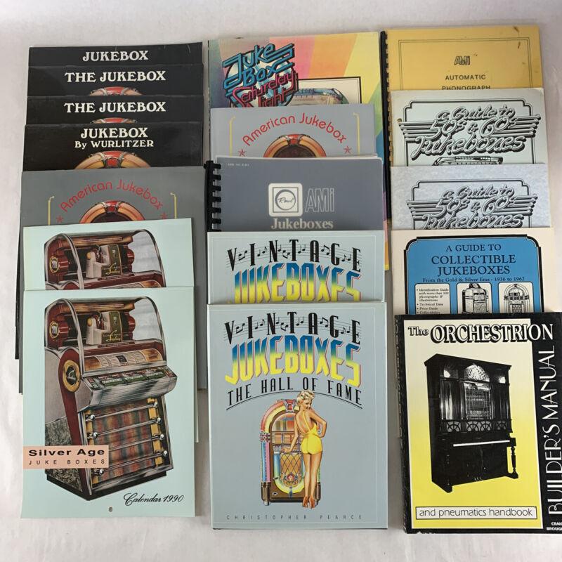 Jukebox Book Lot