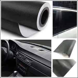 Auto Interior Panel Console Center Armrest Box Carbon Fiber Vinyl Wrap Sticker