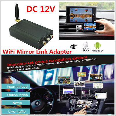 Car Miracast Airplay Android Ios Wifi Mirror Link Adapter Smartphone Screen Kit