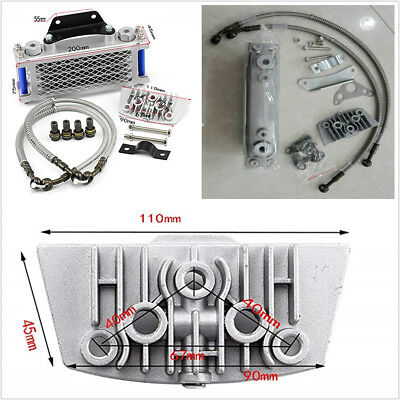 Durable Oil Cooler Cooling Radiator For 50 70 90 110CC Dirt Pit Bike Motorcycle