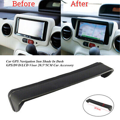 20.5*5CM Car GPS Navigation Sun Shade In Dash GPS/DVD/LCD Visor Solid Accessory