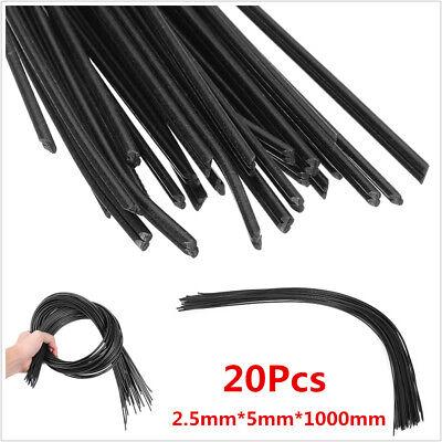 20x Black Pp Plastic Welding Rods Car Bumper Repair For Welder Gun Welding Tool