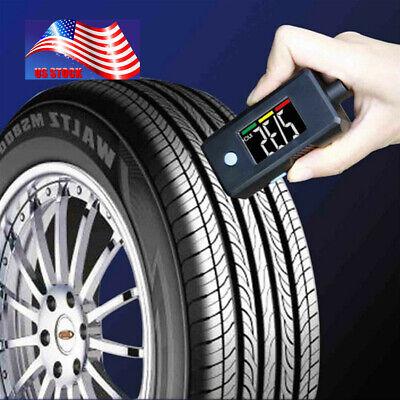 3-120PSI Car Tire Digital Tire Pressure Gauge Tread Depth Measurement Mini - Gauge Measures