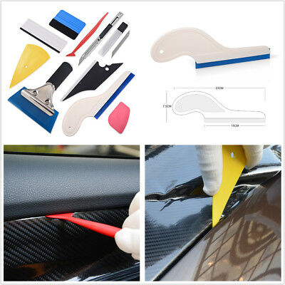 Car Window Tint/Vinyl Wrap/Sticker Tool Carbon Fiber Foil Squeegee Film Tool Kit