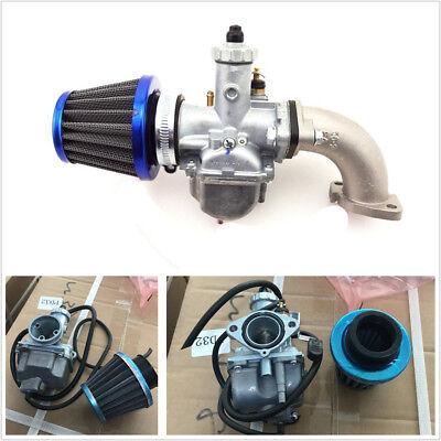 26mm Carburetor Intake Pipe Air Filter For 110 125cc 140cc Engine Pit Motor Bike