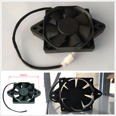 12V Oil Water Cooler Electric Radiator Cooling Fan For 200 250cc ATV Quad GoKart