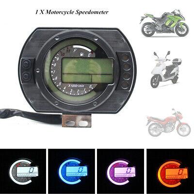 Motorcycle LCD Gauge ATV Panel Display Speedometer Oil Meter Tachometer Odometer