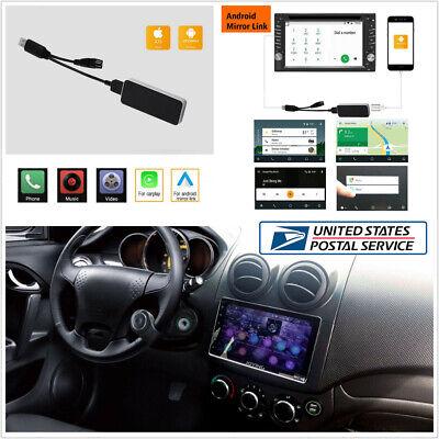 Wireless Link Apple CarPlay Dongle+Steering Wheel Control For Android Nav iPhone comprar usado  Enviando para Brazil
