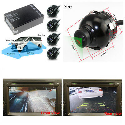 Car Parking Assistance Panoramic View All Round Rearview Camera System 360 View