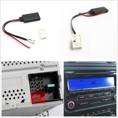 - Bluetooth AUX Adapter Cable Kit For SEAT MCD RNS 300 510 RCD 210 300 310 500 510