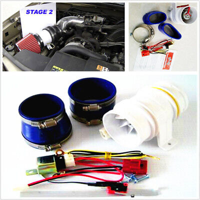 Turbo-5000 3 inch Car Electronic Turbocharger Electric Turbine Supercharger Kit
