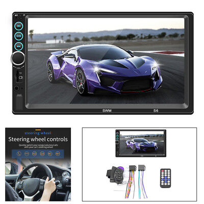 7''2DIN HD Bluetooth Car Stereo Radio Video MP5 Multimedia Player+Remote Control Infiniti Car Stereo