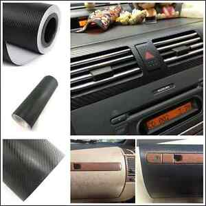 car suv interior accessories console dashboard carbon fiber vinyl wrap sticker ebay. Black Bedroom Furniture Sets. Home Design Ideas