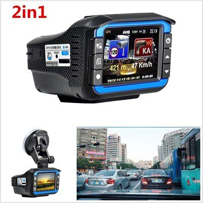 HD Car Hidden DVR Recorder Rearview Video Dash Cam Camera Laser Radar Detector