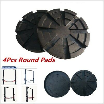 4Pcs 120mm Heavy Duty Durable Round Rubber Arm Pads For Car Lift Accessories Kit