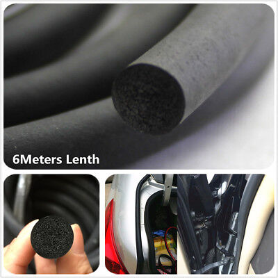 6M x 6MM O-shape Car Door Edge Noise Guard EPDM Rubber Seal Strip Wheatherstrip for sale  Shipping to Canada