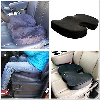 Coccyx Comfort Pad Back Spine Lumbar Support Memory Foam Mat Car