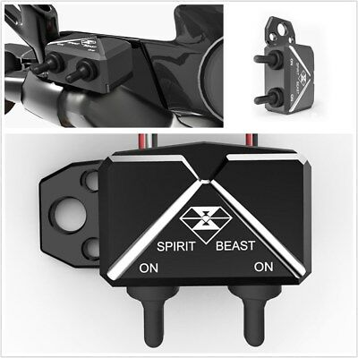 Universal Motorcycle Bike Switch Control Box Aluminum Alloy Double Flash Switch](Cheap Shadow Boxes)