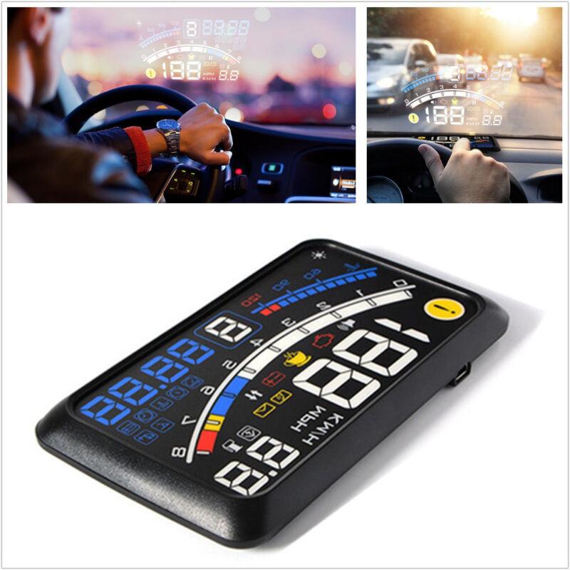 "Car OBDII/EOBD Head Up HD Display 5.5"" Overspeed Warning Projector Non-slip Mat"