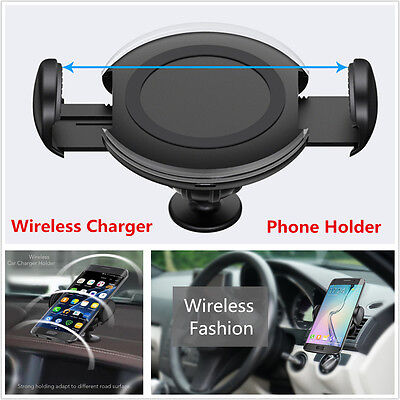 Case Car Charger Phone Holder - Car Charger Dock Air Vent Dashboard Cell Phone Wireless Charging & Mount Holder