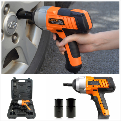 12V Professional 380N.m Electric Power Impact Wrench For Car/SUV Changing Tire