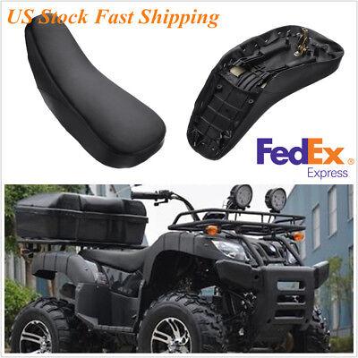 Black Sponge Foam Seat For ATV Pit Quad Dirt Bike 4 Wheeler 50-110cc US -