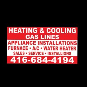 Heating/ cooling/ gas lines/ main water shut off