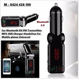 Dual USB Car Charger Bluetooth handfree talk Stereo MP3 Player Noble Park Greater Dandenong Preview