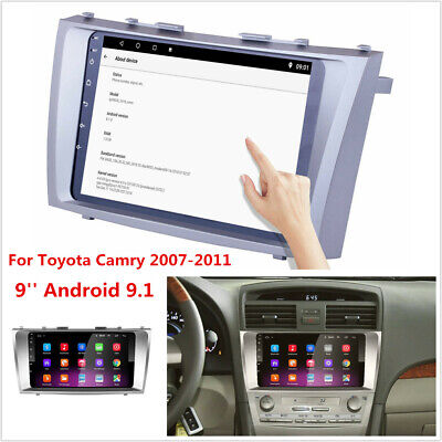 9'' Android 9.1 For 2007-2011 Toyota Camry Stereo Radio GPS Navigation 1GB+16GB