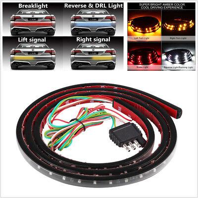 "12V 48"" 120 LED 3 Colors Pickup Turn Signal Lamp Brake Light Reverse/DRL Light"