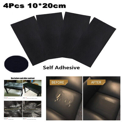 4X Sheep Leather Repair Patch+Vinyl Adhesive For Sofas Car Seats Handbags Jacket Avalon 3 Piece Sofa