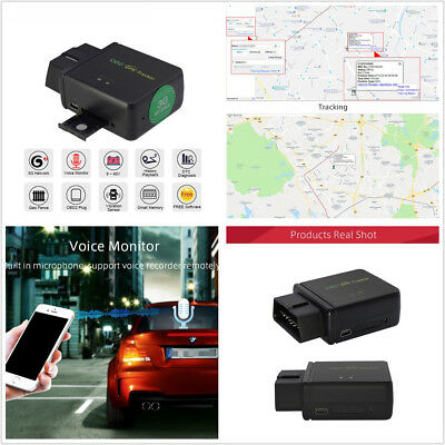 Car Commodities GPS Real Time Tracker OBDII OBD2 Tracking Device For Android IOS APP