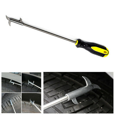 Car Tire Care Tool Stainless Steel Pebble Cleaning Tire Hook Gap Slotting Cutter