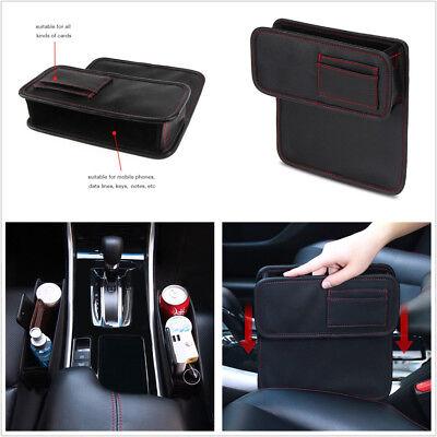 Car Seat Storage Box Seat Gap Slit Filler Bag For Books/Phone/Cards/Coins/Gloves ()
