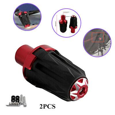 2x10MM Motorcycle Off-road Frame Engine Safety Protector Ground Crash Slider Cap