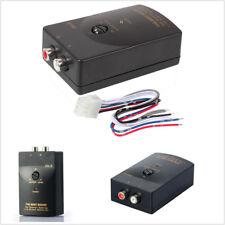 FidgetFidget Audio Speaker Car Stereo Wire 2 RCA Line Level Converter Adaptor High Low