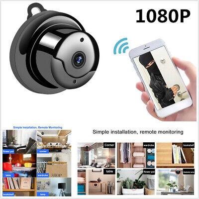 1080P Wireless IR WiFi CCTV Indoor/Outdoor HD MINI IP Camera CAM Home Security