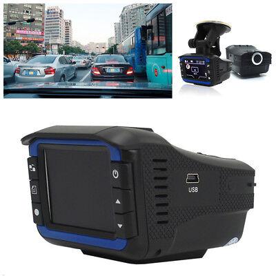 Universal HD 2in1 Car DVR Camera Video Recorder Radar Laser Speed Track Detector