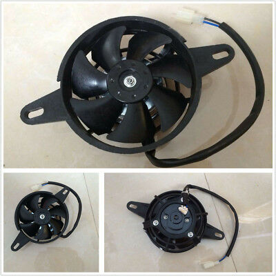 Motorcycle ATV Electric Radiator Thermal Cooling Fan Oil Cooler Water Cooler Fan