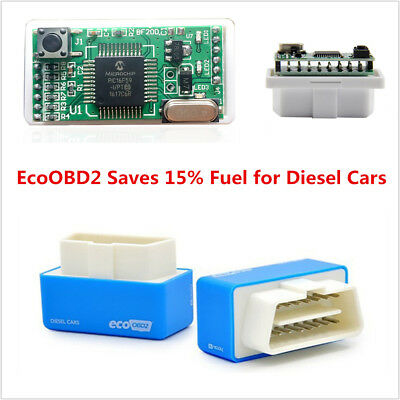 Mini Eco OBD2 Economy Fuel Saver Tuning Box Chip For Diesel Car Truck Vehicles Diesel Truck Fuel Economy