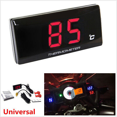 Universal Motorcycle Instruments Thermometer Water Temp Temperature Gauge Meter