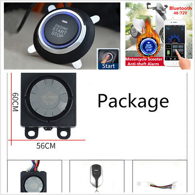 Mini Electric Scooter/Motorcycle Dual Mode Intelligent Anti-theft Security Alarm