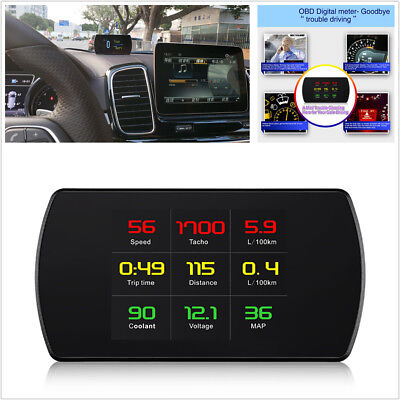 Car Computer HUD Digital Car Speed Projector On-Board Computer OBD2 Speedometer