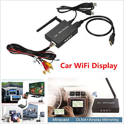 Car Wifi Display Mirror Link Box Converter Miracast Dlna Hdmi For Android Ios