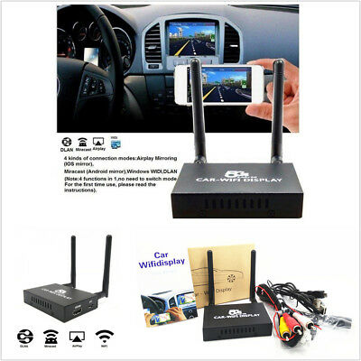 Car Wifi Display 2 4G 5G Wireless Airplay System Mirror Link Box For Android Ios