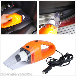 12V Multifunctional Handheld Vacuum Cleaner Cyclonic Wet/Dry Car SUV Dust Buster