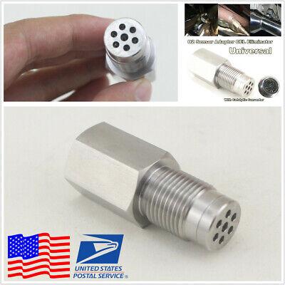 Check Engine Light Fix O2 Sensor Eliminator Adapter Spacer w/Catalytic